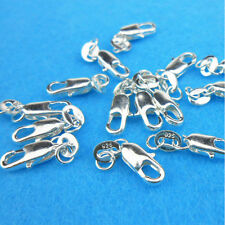 Wholesale 5/10PCS Connector 925 Sterling silver Lobster Clasps Necklace Pendants