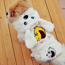 Pet Dog Coat Jacket Cat Puppy Hoody Winter Warm Clothes  Apparel  Sweater New