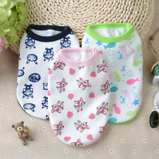 Chihuahua Yorkshire Teacup Dog Clothes Small Pet Clothing Cat Puppy Pajamas XXXS
