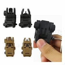 Tactical Rapid Transition Button Sight Front+Rear Set Hunting Front Transition