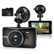 OldShark FHD 1080P 3-Inch Car Dash Camera with 32GB SD Card 170 Degree Wide Angl