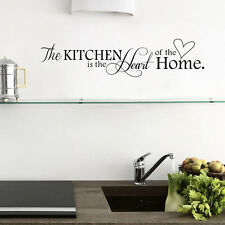 New Kitchen Wall Sticker PVC Removable Art Home Decor DIY Wall Stickers