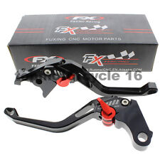 FXCNC Short CNC 3D Rhombus Brake Clutch Hollow Lever For BMW R1200R/R1200RS