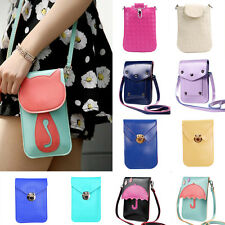 Women Shoulder Bag Leather Messenger Hobo Bags Handbag Coin Purse Phone Holder