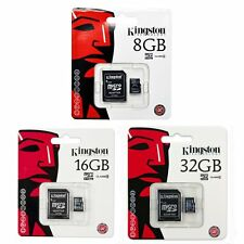 Kingston 8/16/32GB GB SDC4 Micro SD HC SDHC Flash Memory Card Class 4 TF