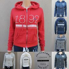 ABERCROMBIE & FITCH WOMEN HOODIE All Sizes NWT green GRAY blue PINK new