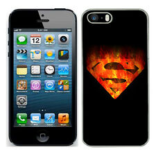 Marvel superman case fits Iphone 4s 5c SE 5s 6 s 7 cover mobile 20 phone