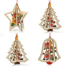 Cute Christmas DIY Decor Pendants Hanging Ornament Party Holiday Craft