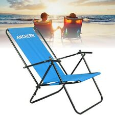 New Backpack Beach Chair Folding Portable Chair Solid Construction Camping IS6H
