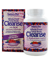 Natures Plus Whole Food Total Body Cleanse with Acai -168 Capsules