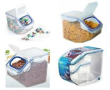 Grain Rice Cereal Candy or Pet Food Storage Container Bin 50cup, 21cup and 10cup