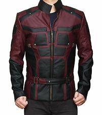 Mens Daredevil Jacket Charlie Cosplay Jacket Biker Jacket