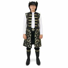 Complete Pirate Costume - Vest Pants Hat Boot Covers Mens Adult Cosplay L XL NEW