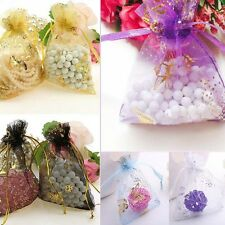Lots 25-100Pc Organza Drawstring Wedding Party Favor Candy Gift Bag Pouch 7X9CM