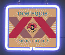 Dos Equis Imported Beer Amber Cerveza Neon Light Sign