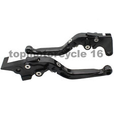 FXCNC CNC Foldable& Extend Brake Clutch Levers For Yamaha YZF R1 R6 R125 R3 R6S