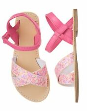 NWT Gymboree Fruit Punch Girls Pink Confetti Sandals 10,11,12,13,1,2,3