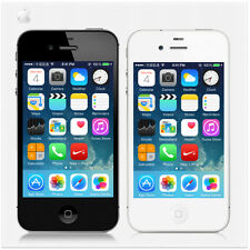 Apple iPhone 4S 8GB/16GB/32GB White Black Factory Unlocked Smartphone Mobile