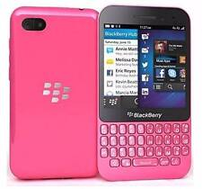 Nu BlackBerry Q5 Unlocked smart phone GSM 4G Pink T MOBILE AT&T camera cell gift