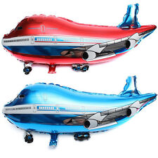 31 inch Flying Plane Shape Balloon Airplane  Foil Helium Balloon Gift Party VV