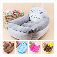 Small Large Pet Kennel Dog Soft Bed Cat Winter Warm Totoro Bed Cushion Pad Mat