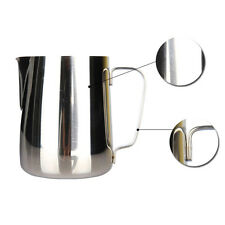 600/350ML Stainless Steel Espresso Coffee Pitcher Craft Milk Frothing Jug VV