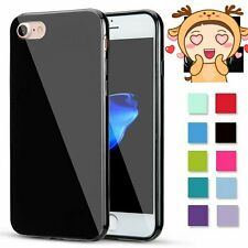 Shockproof Jelly Case Soft Silicone Rubber Gel Cover Skin for New Apple iPhone 7