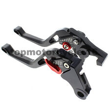 FXCNC Short CNC 3D Rhombus Brake Clutch Fringe Lever For BMW R1200GS ADVENTURE