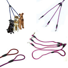 Chic Coupler 3 Way Dog Leash No-Tangle Triple Pet Leash Fit For Walking Dog