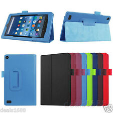 "Folio Leather Case Stand Folding Cover For Amazon Kindle Fire HD 6"" & 7"" Tablet"