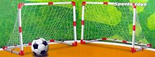 Soccer Goals For Kids Set Of Two Junior Size Four Feet By Three Feet Lightweight