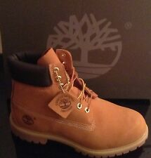 "AUTHENTIC TIMBERLAND 10061 MENS 6""  WHEAT NUBUCK BOOTS SIZE UK 11.5"