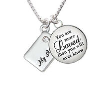 My Angel Envelope - You are more Loved  - Necklace