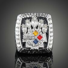 Pittsburgh Steelers NFL Superbowl Championship Ring 2005 Lead-tin alloy XL