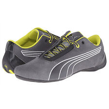 new-puma-future-cat-s1-nightcat-mens-casual-shoes-suede-driving-gray-yellow