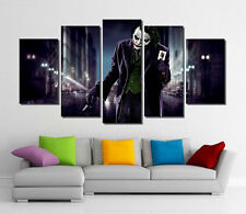 Framed Wall Canvas Art - Joker DC Comic Super Villain Joker Print, Joker Canvas