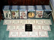 CGC PLAYBOY:Highest Graded COMPLETE Fifties (1953-1959) Collection in the World!