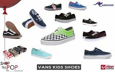 Vans Toddler Kids shoes Unisex 8 Styles Authentic Era Lo Pro Brigata  Free Post