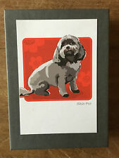 Paper Russels Boxed Greeting Cards - Shih Poo
