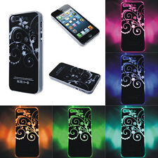 Sense Flash LED Color Changing Light Case Cover Skin For iPhone 4 5 5S Stunning