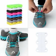 Novelty Magnetic Casual Sneaker Shoe Buckles Closure No-Tie Shoelace New FY