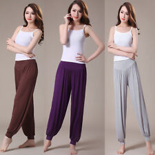 Yoga Fitness Gym Athletic Long Stretch Pants Women Dance Pant Fitness Breathable