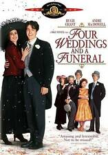 """Four Weddings and a Funeral (DVD, 2012) """"Magical! A Very Special OCCASION!"""", NEW"""