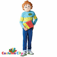 Childs Boys Official Horrid Henry World Book Week Fancy Dress Party Costume