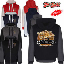 Hot rod 58 Whiskey Pick Up Truck Rockabilly Retro Hoody Hoodie zipper Jacket 64