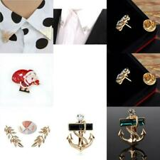 Vintage Fashion Elegant Chic Punk Cute Shirt Blouse Collar Clip Lapel Pin Brooch