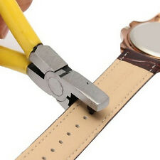 New Universal Hand Leather Strap Watch Band Belt Tool Hole Punch Pliers Tool New
