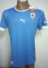 2012 ORIGINAL PUMA URUGUAY HOME SOCCER JERSEY SHORT SLEEVE XL
