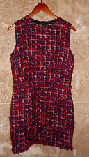 AUTHENTIC DOLCE AND GABBANA WOOL TWEED DRESS  IT 46