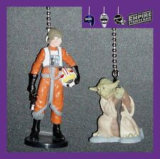 STAR WARS MOVIE FIGURINES FROM THE EMPIRE STRIKES BACK CEILING FAN/CHAIN PULLS